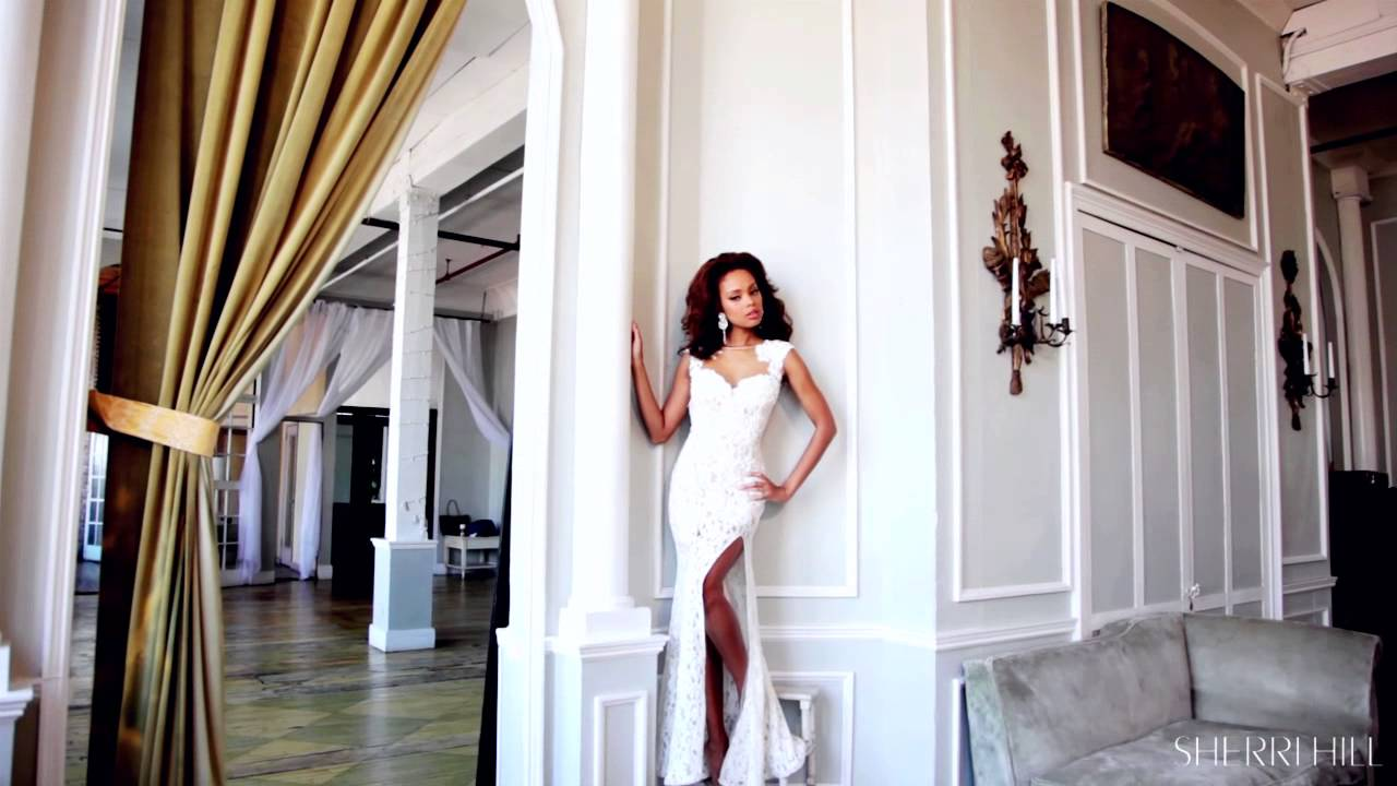 57a58fd95ae Classic Sherri Hill Beauties in Spring 2014 - YouTube
