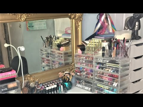 Makeup Collection and Organization Spring 2017