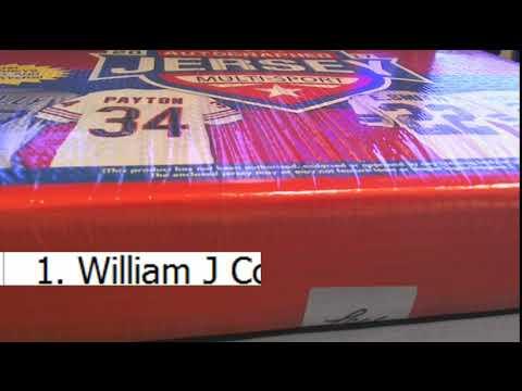 2017 Leaf Autographed Jersey Multi Sport Edition Box ID 17LMSJ103
