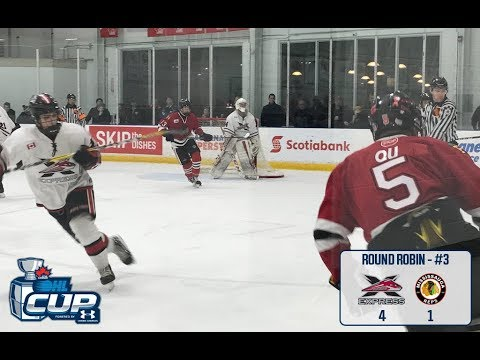 2018  OHL Cup  _____  York Simcoe Express vs Mississisauga Reps 4-1
