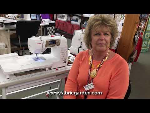 Janome QDC Series  Threading Your Bobbin And Machine
