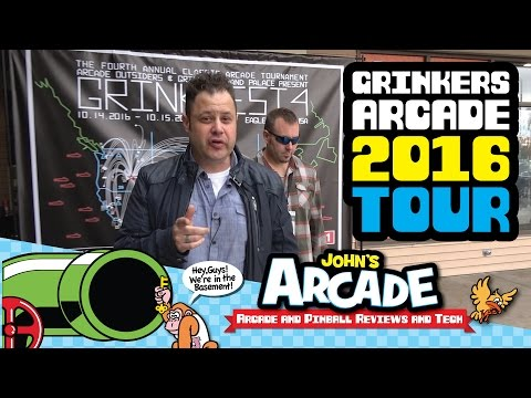 Grinkers Grand Palace Arcade Tour 2016 - Amazing place! Grinkfest4