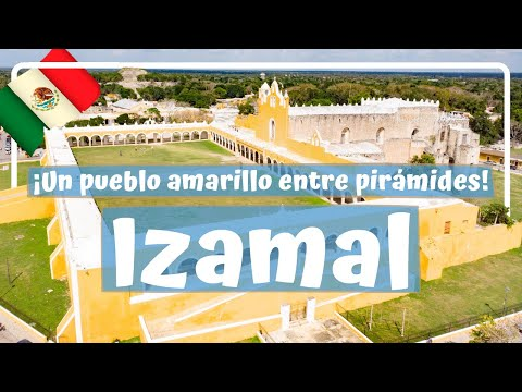 RECORRIENDO IZAMAL! la impresionante ciudad amarilla entre PIRÁMIDES - Yucatán #9 Luisitoviajero