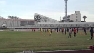 バンコクFC トレーニング & トライアウト 映像一部