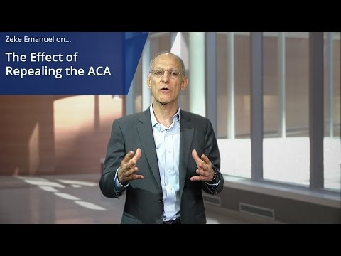 The Effects of Repealing the ACA