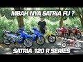 Bedah Suzuki Satria 2 Tak Ru & Lscm Series #motovlog Indonesia