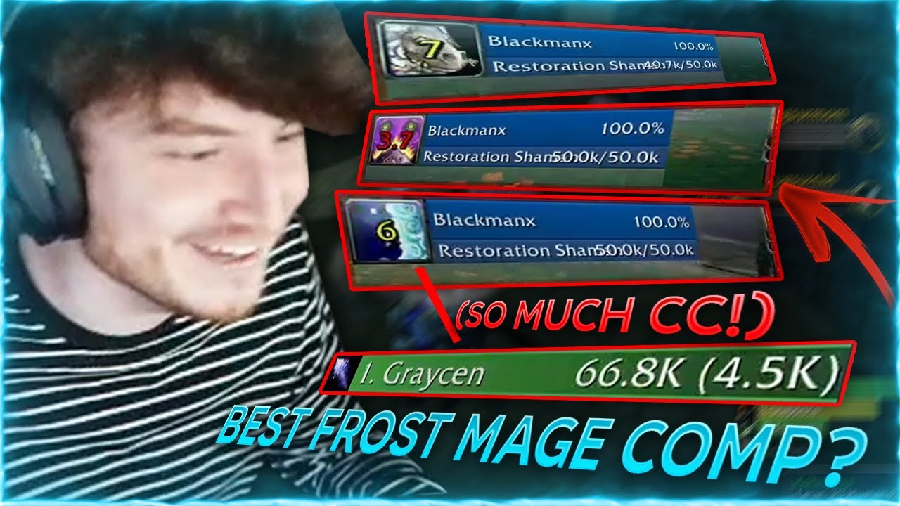 This is the best Frost Mage 2x Dps Comp by FAR!