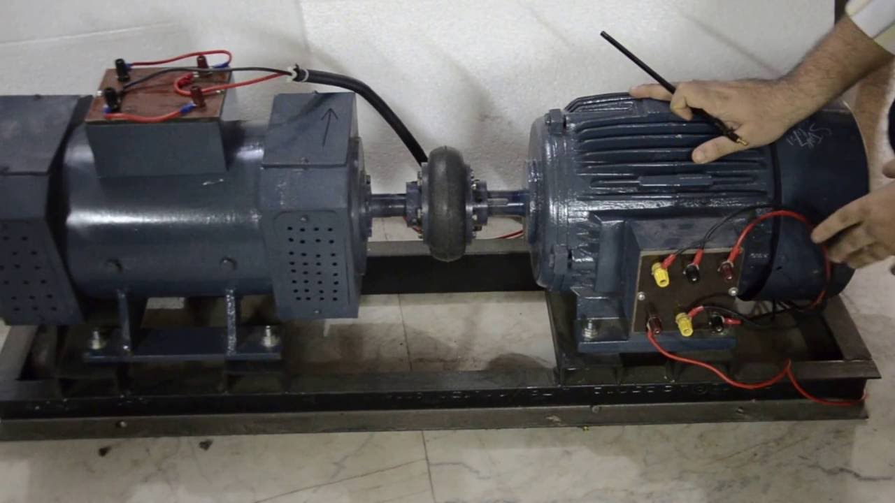 Description of a Motor Generator Set  YouTube
