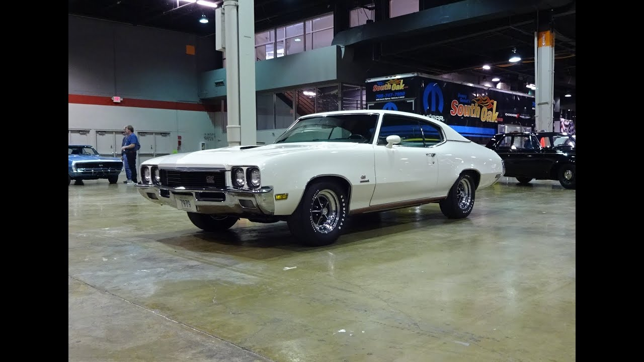 1972 Buick Gs Stage 1 In Arctic White Paint 455 Engine Sound On My Car Story With Lou Coile