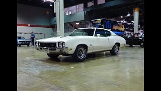 1972 Buick GS Stage 1 in Arctic White Paint & 455 Engine Sound on My Car Story with Lou Costabile