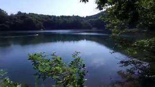 2016神秘の湖-四尾連湖周遊(4K撮影)Walking Around The Mysterious Lake Shibireko(UHD)