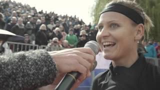 Lucie Šafářová - rozhovor po vítězství v 1. kole J&T Banka Prague Open 2016