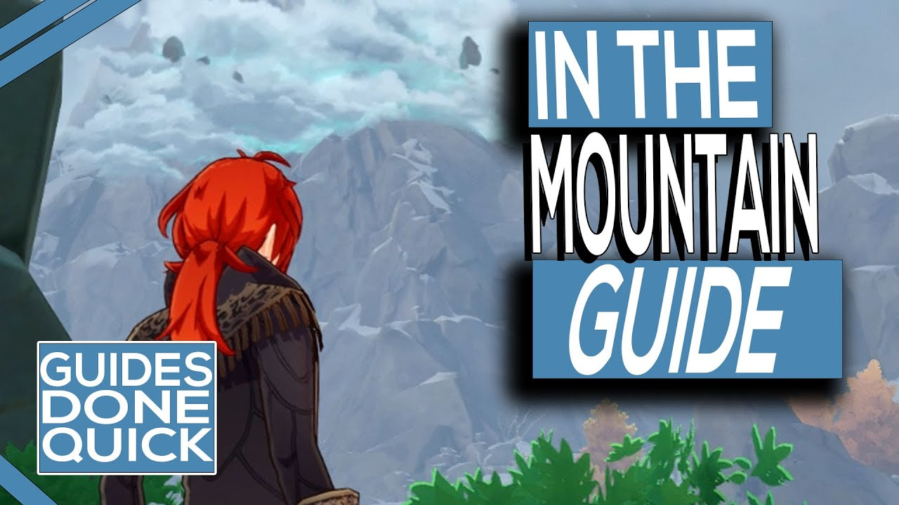 Genshin Impact In The Mountains Quest Guide Youtube