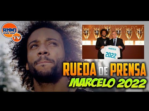 Rueda de Prensa de renovación de MARCELO hasta 2022 (14/09/2017)