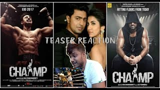 Champ Teaser Reaction by Ronnie | Champ Bengali Movie Trailer | Dev