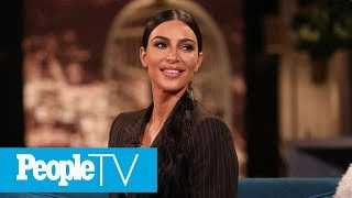 Kim Kardashian West Teases KarJenner Christmas Card In Glittery Family Photo Shoot | PeopleTV