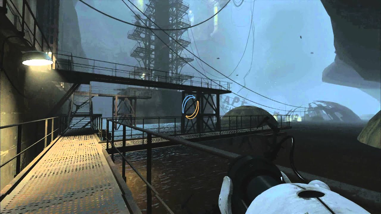 Cgroverboard Portal 2 For Pc Video Game Review Youtube