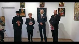 Vernisajul expoziției de icoane - Galeria de Artă Turda (23.04.2019)
