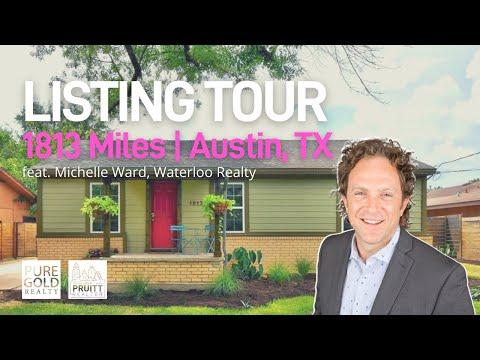 Austin Listing Tour | 1813 Miles Ave