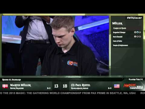 2015 Magic World Championship Round 14 (Standard): Paul Rietzl vs. Martin Muller