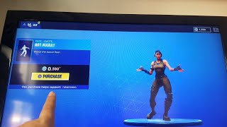 HOW TO GET A *FREE* EMOTE (hot marta) In fortnite battle royale