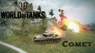 Comet Tier 7 Beast! 2 x Ace Tanker replays - World of Tanks
