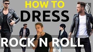 Rockstar Clothing Fashion For Men | How To Dress Like A Rockstar | Rock n Roll Style Clothing