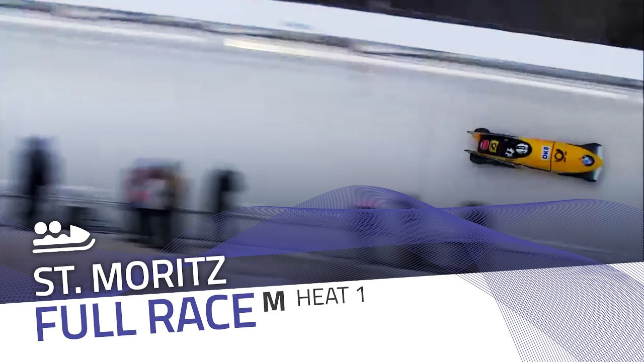 St. moritz | bmw ibsf world cup 2015/2016 - 2-man bobsleigh heat 1 | ibsf official