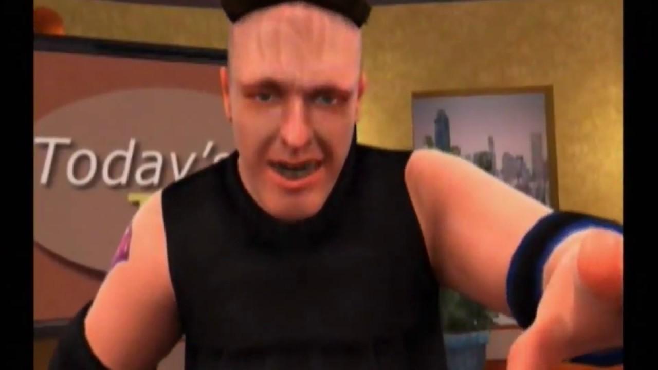 Backyard Wrestling (Xbox) - Talk Show Mode (Part 3/3 ...