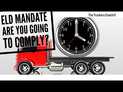 ELD Mandate - I'm not going to comply ?