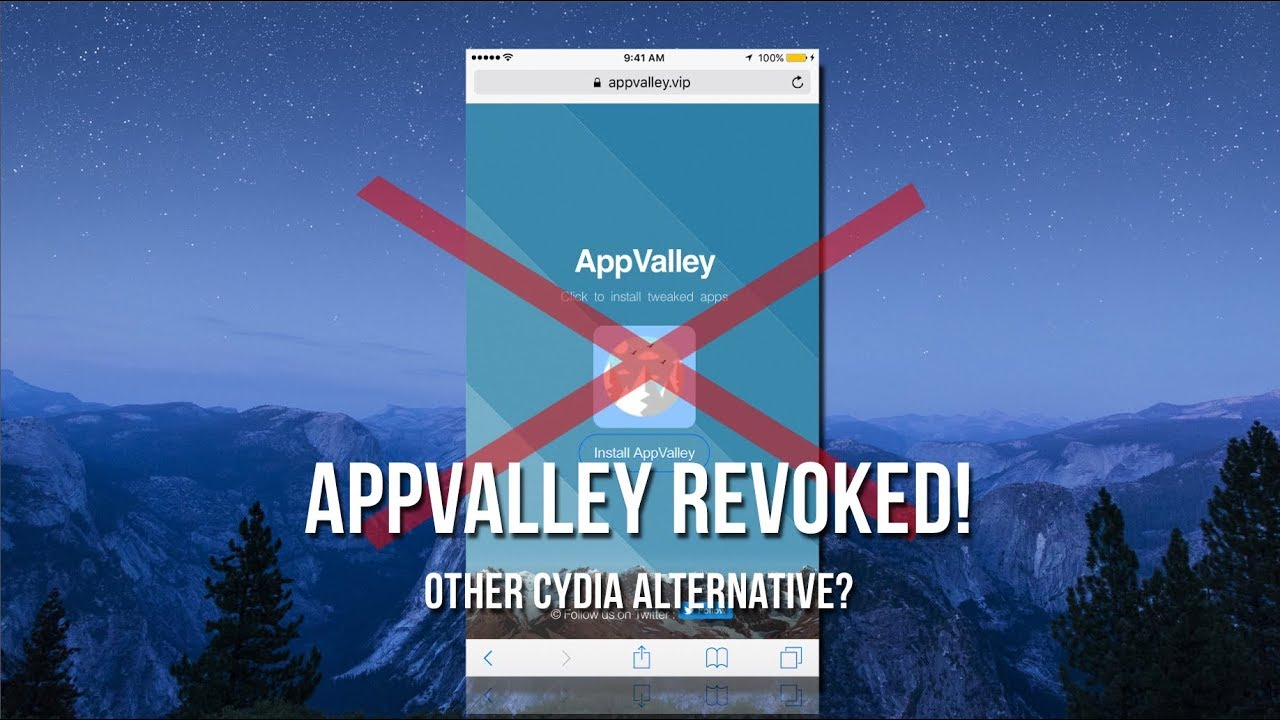 AppValley Not Working! (AUGUST 2017) Other Cydia Alternative?