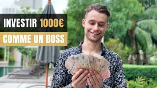 Comment Investir 1000 EUROS (Meilleur Investissement 2019)