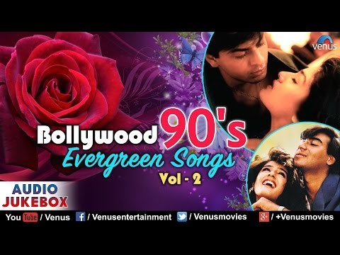 Bollywood 90's Evergreen Songs : Vol - 2 | 90's Bollywood Romantic Songs | JUKEBOX | Hindi Songs