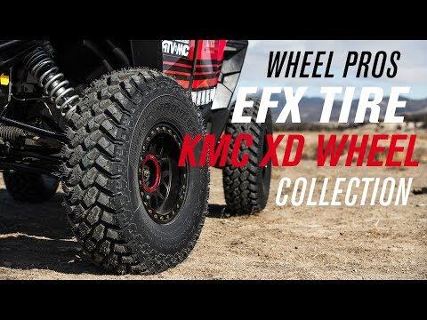 Wheel Pros EFX Tire & KMC XD 2018 - 2019 Wheel Collection
