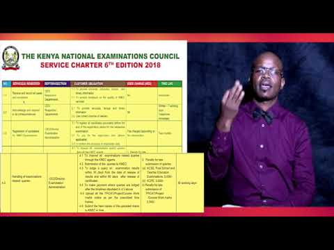 KNEC – Quality Assessment & Credible Exams