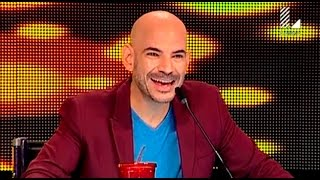 Ricardo Morán reacciona así al enterarse a quien imita este participante