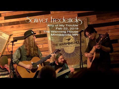 Sawyer Fredericks performs Any of My Trouble Feb 22, 2019