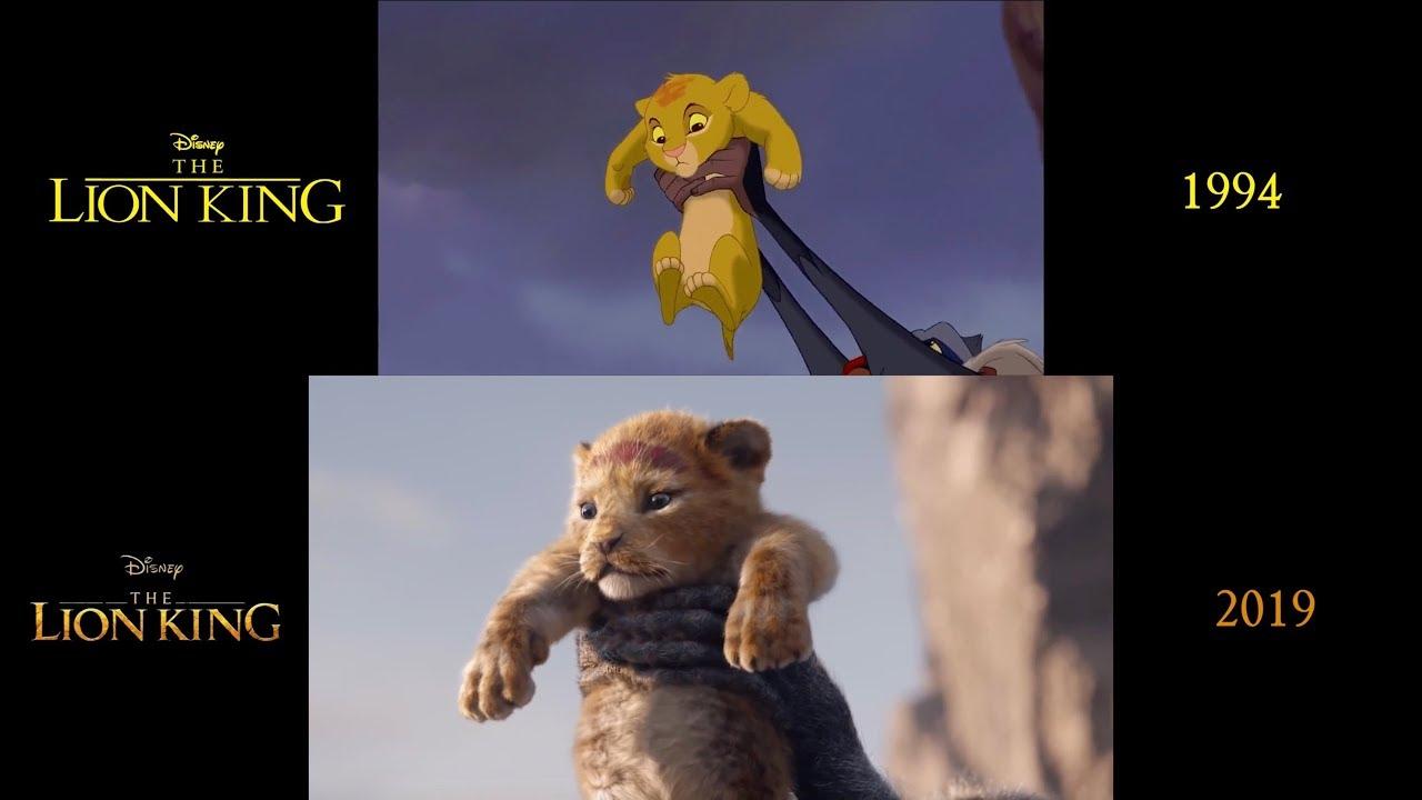 the lion king  1994  2019   teaser trailer side