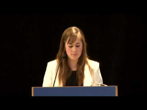 Maggie O'Donnell: Program Assistant Talk at FCNL 2014 Annual Meeting