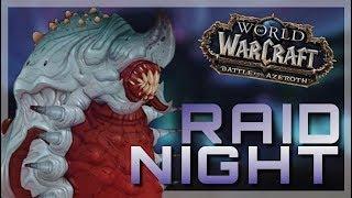 RAIDING Heroic ULDIR - At Zek'Voz | World of Warcraft Battle For Azeroth