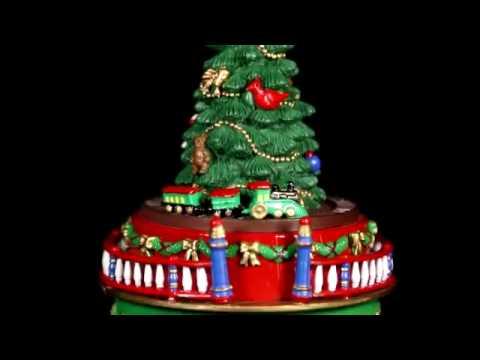 19737 mr christmas mini carnival music box tree - Mr Christmas Tree