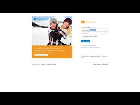 Como acceder a la bandeja de correo electronico de Hotmail -Hotmail iniciar sesion
