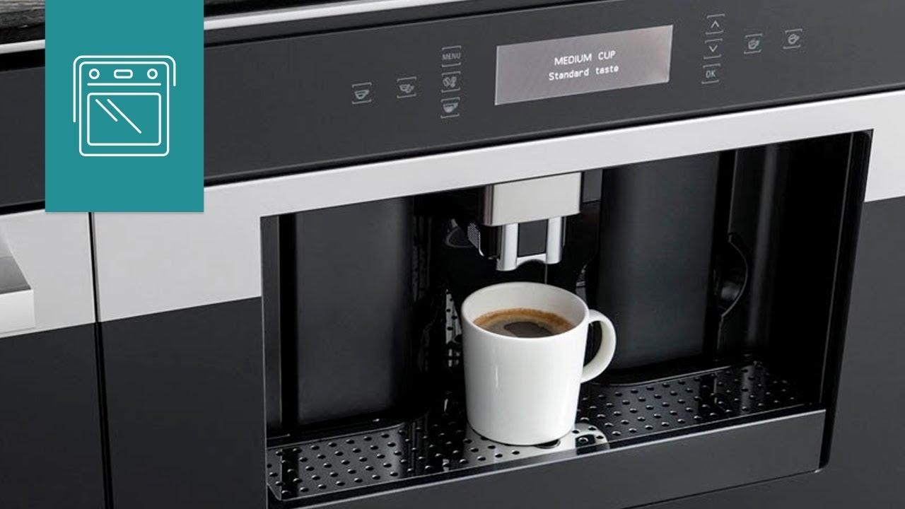 einbau kaffeevollautomaten bauknecht youtube. Black Bedroom Furniture Sets. Home Design Ideas