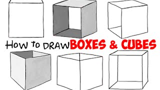 How to Draw Boxes and Cubes
