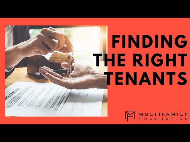 Finding the Right Tenants