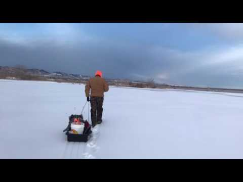 Ice fishing colorado youtube for Ice fishing youtube