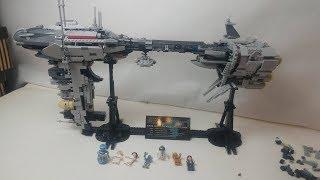 Speed Build LEPIN 05083 EF NEBULON-B Escort Frigate (MOC from LEGO IDEAS)