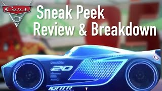 Cars 3 New Official Sneak Peek  - Review, Breakdown & Speculation