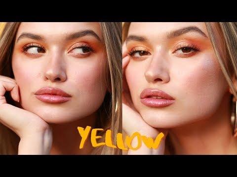 mellow yellow // summer makeup tutorial thumbnail