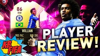 FIFA 17 IN FORM WILLIAN (86) PLAYER REVIEW! | FIFA 17 ULTIMATE TEAM(, 2017-01-05T16:30:02.000Z)
